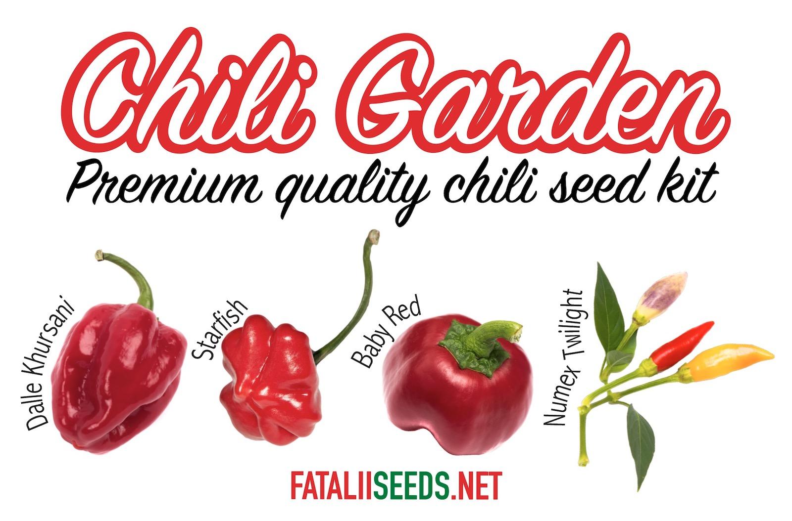 Chili Garden (Seed Kit)