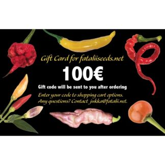 GIFT CARD 100€ for fataliiseeds.net